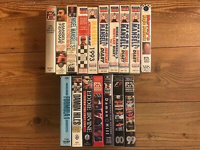 Complete Nigel Mansell Indycar And F1 Video Collection