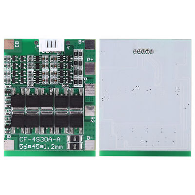 4S 30A 14.8V Li-ion Lithium 18650 Battery BMS PCB Protection Board Balance ice