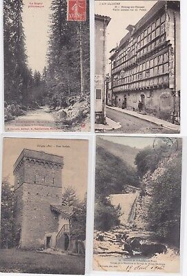 Lot 16 Cartes Postales Anciennes Cpa Cpsm Dpt 01 Ain Bourg Coligny Le Bugey