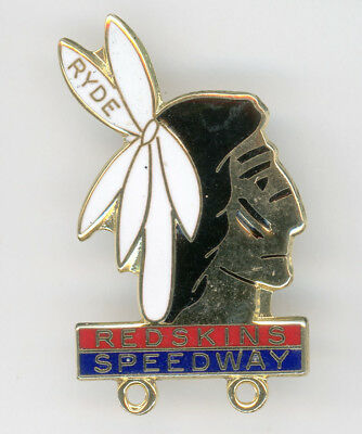 Skid Marks..  1997 Isle of Wight Speedway Badge