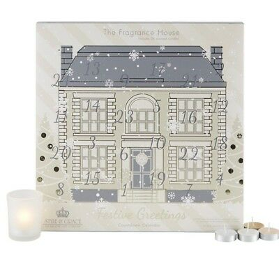 "Style & Grace ""The Fragrance House"" Tea Light Advent Calendar 