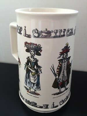 Holkham Pottery Tankard Mug Cries Of London Spitalfields Market Brick Lane Trade