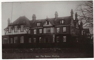 Jay Em Jay Real Photo Postcard The Manor, Healing Lincolnshire