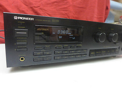 Pioneer SX-339 Stereo Receiver intern.shipping