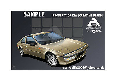 Matra Murena A3 Poster Illustration