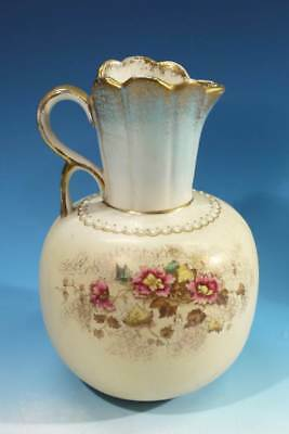 Late Victorian / Edwardian Antique Pottery Jug.