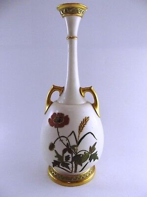 Beautiful Antique Royal Worcester Vase Dated 1883 Ref 597/2