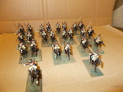 Airfix 1.72 Napoleonic French Cavalry Cuirassiers  24 Painted Figures See Photos
