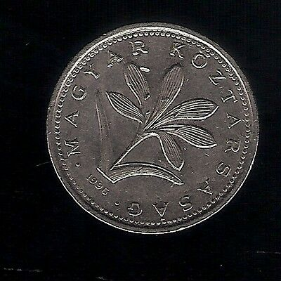 1996 2 Forint HUNGARY COIN Copper-nickel the Hungarian crocus