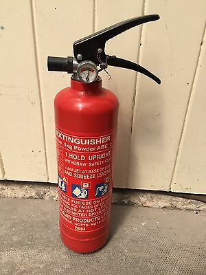 1 Kg Portable Fire Extinguisher With Gauge
