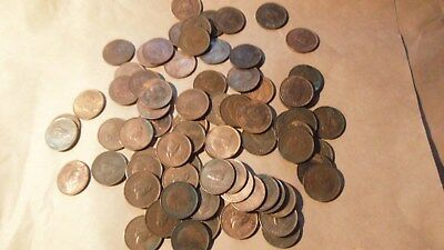 GEORGE VI, 75 off FARTHING COINS As Per Pictures.