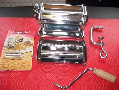 Imperia Pasta Maker - barely used  - complete with instructions - attractive