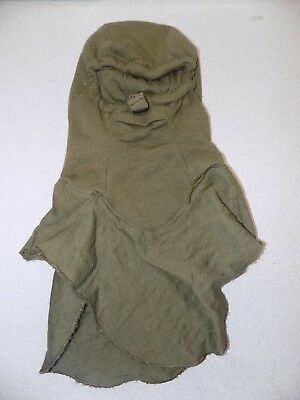 US Military Issue, COLD WEATHER COMBAT VEHICLE CREWMANS BALACLAVA HOOD OD GREEN