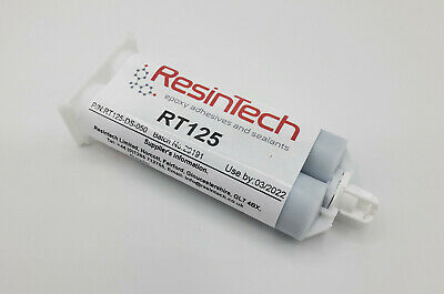 ResinTech RT125-DS-050 Flexible 2 Part Epoxy 50ML Black Motorsport Nascar Motec