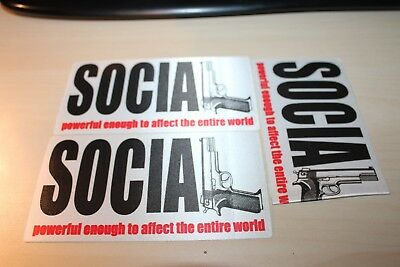 Social Distortion - 3 x Backstage Pass - - Free Postage -