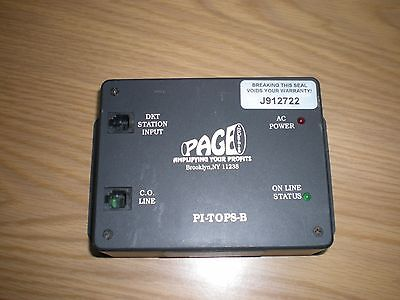 Page Industries PI-TOPS-B NEC Page Adapter