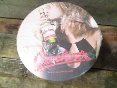 Czechvar Beer Coasters Pack of 100 NEW Sealed