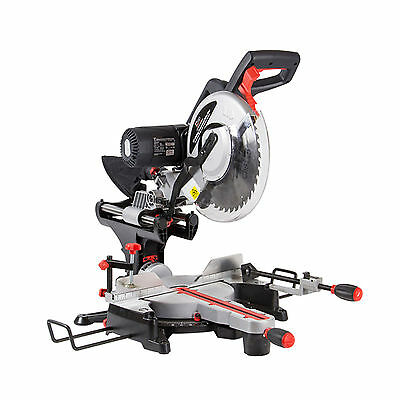 "SIP 12"" 305mm Belt Driven Double Bevel Compound Sliding Mitre Saw & Laser ReCon"
