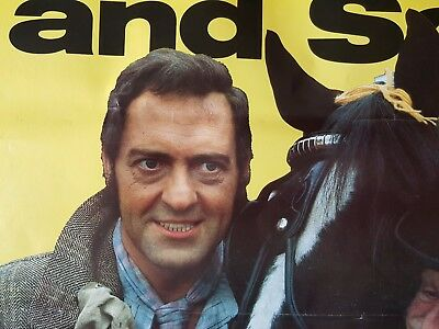 Original Large 1980's BBC STEPTOE & SON Promotional Poster Harry H Corbett