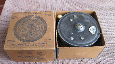 Antique Hardy Fishing Reel The Super Silex C1925
