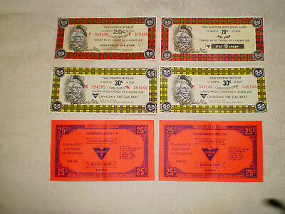 Vintage Canadian Tire Coupons