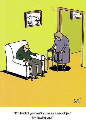 L ~ FREE POSTAGE UK Tripped Funny Humour Card