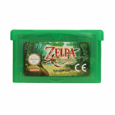 Legend of Zelda The Minish Cap Nintendo GBA Video Game Cartridge Console Card