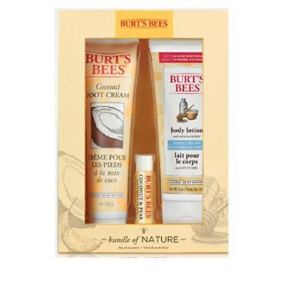Burts Bees Bundle of Nature Gift Pack FREE P&P