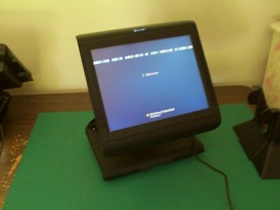 Par Partech Everserv 7000 M7200 POS Terminal with Rear LED Display B-30-001