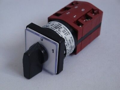 Cam Switch 10A 3 Pole ON/OFF 60 degree switching