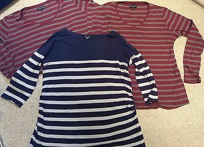 next and new look maternity tops size 16