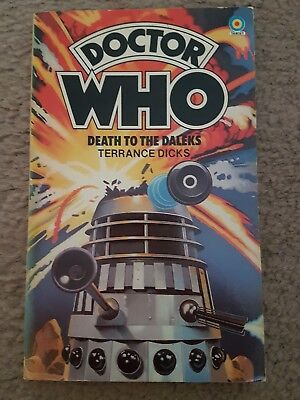 Doctor Who - Death to the Daleks Target Book