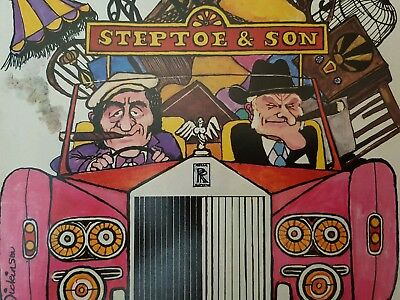 Original STEPTOE & SON Punch Magazine Featuring Steptoe & Son ARTWORK  / CARTOON