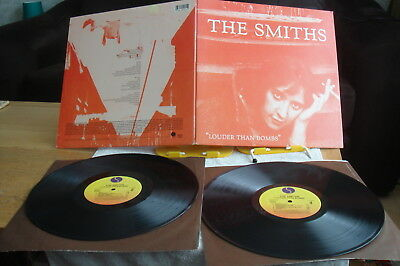 THE SMITHS-Louder Than Bombs-US 2 × LP-EX-1987