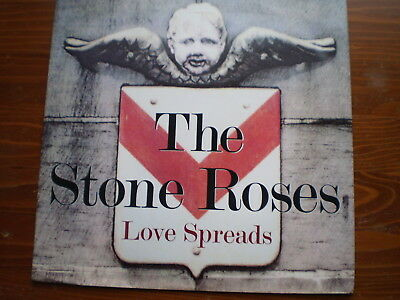 "THE STONE ROSES ‎– Love Spreads -UK 12"" SINGLE-EX-1998- 33 ⅓ RPM-INDIE"