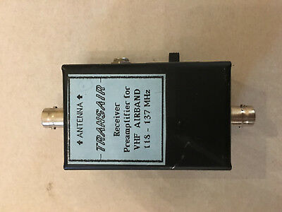 Transair receiver preamplifier 118-137MHz