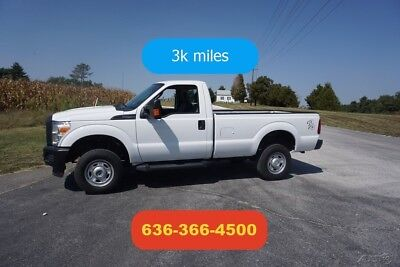 2015 Ford F-250 XL 2015 XL Used 6.2L V8 16V Automatic Pickup Truck like new 3k miles 4wd 8ft bed