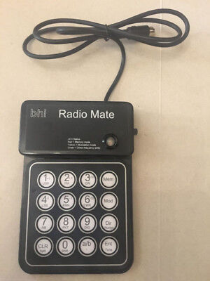 BHI radiomate remote keyboard