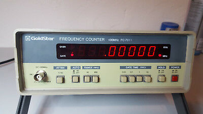 Frequenzzähler Goldstar FC-7011  100 MHz Frequency Counter