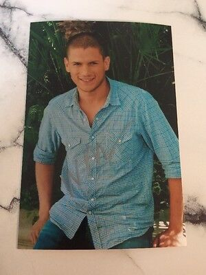 Prison Break Wentworth Miller  Pre Printed Photo