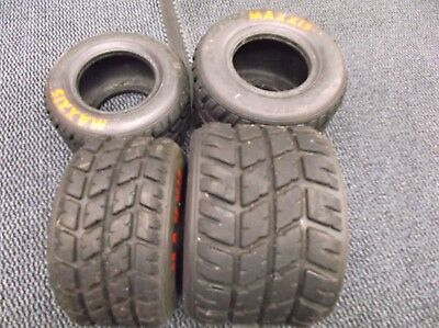 go kart tkm 100cc /115cc extreme tkm maxxis wet tyres full set 90% left on wear