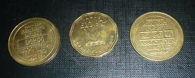 3 Reader's Digest Tokens, RD  PD  65, 04254, and a Thankyou £13 97