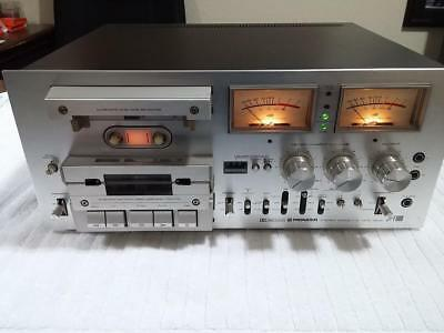 Vintage Pioneer CT-F1000 Stereo Cassette Tape Deck * Serviced- New Belts / Clean
