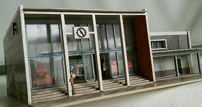 Vollmer modern train station with amazing hall interior HO OO gauge by R&M