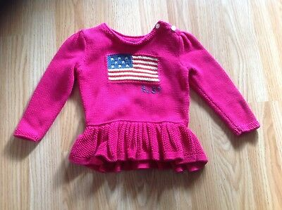 Girls Ralph Lauren Jumper Age 18 Months