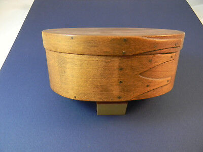 Shaker Oval box, Guild of Shaker crafts, Spring Lake, MI, Reproduction