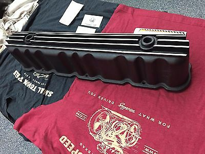 Black AussieSpeed FORD 144 200 250 STRAIGHT SIX VALVE COVER. inline 6 mustang