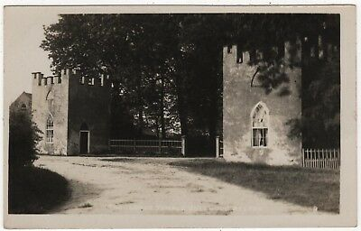Real Photo Postcard Of The Lodge Temple Bellwood, Belton  , Lincolnshire