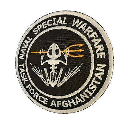 US Navy Seals Task Force Afghanistan morale frogman parche sew iron on patch