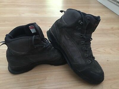 Raichle Impact GTX Gore-Tex Walking Boots in Black Grey UK 10 US 11 EUR 44 / 99p